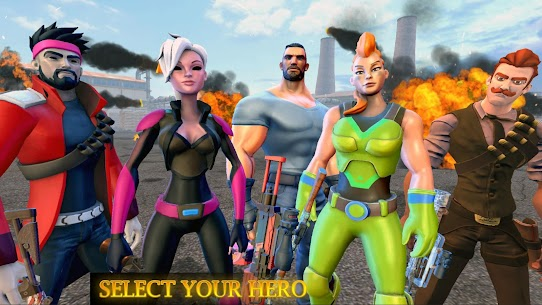 Cover Strike Battle Royale : Free Shooting Games 4
