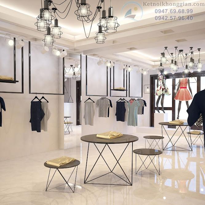 thiết kế nội thất cửa hàng chuyên nghiệp tại shop Viễn Hạnh
