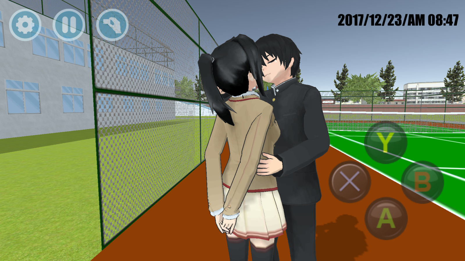 تحميل لعبة high school simulator 2018