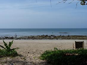 Photo: Ko Jum - view from my bamboo hut veranda at morning low tide