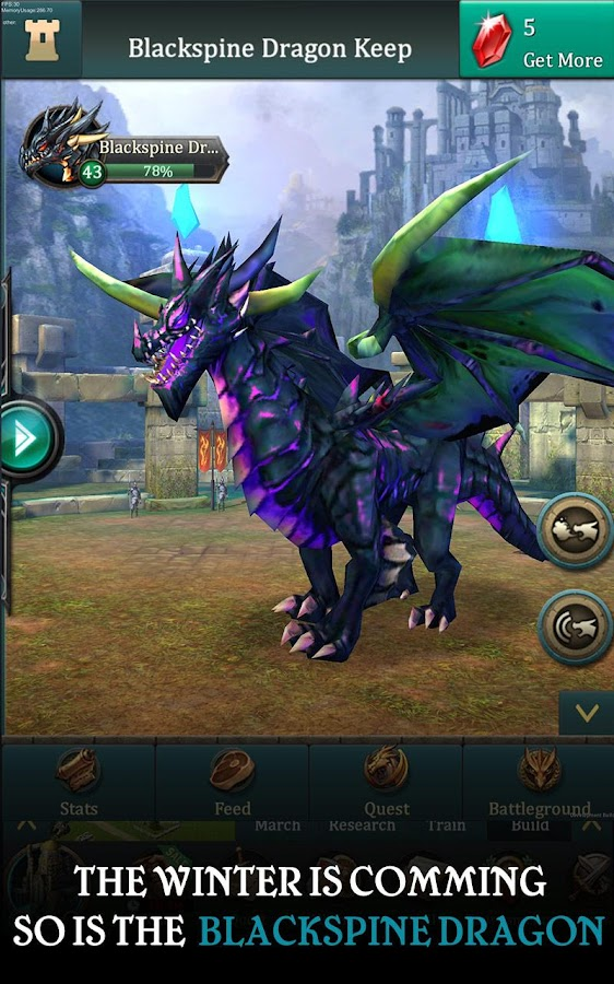 Screenshots of Dragons of Atlantis for iPhone