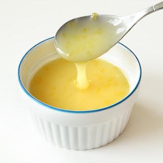 Homemade Vegan Lemon Curd.