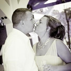 by Myra Brizendine Wilson - Wedding Bride & Groom ( bride, couple, groom, wedding, event,  )