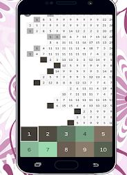 Mandalas Color By Number Pixel Art Coloring Page APK Screenshot Thumbnail 7