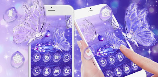 Приложения в Google Play – Water Drop Butterfly Launcher Theme ...