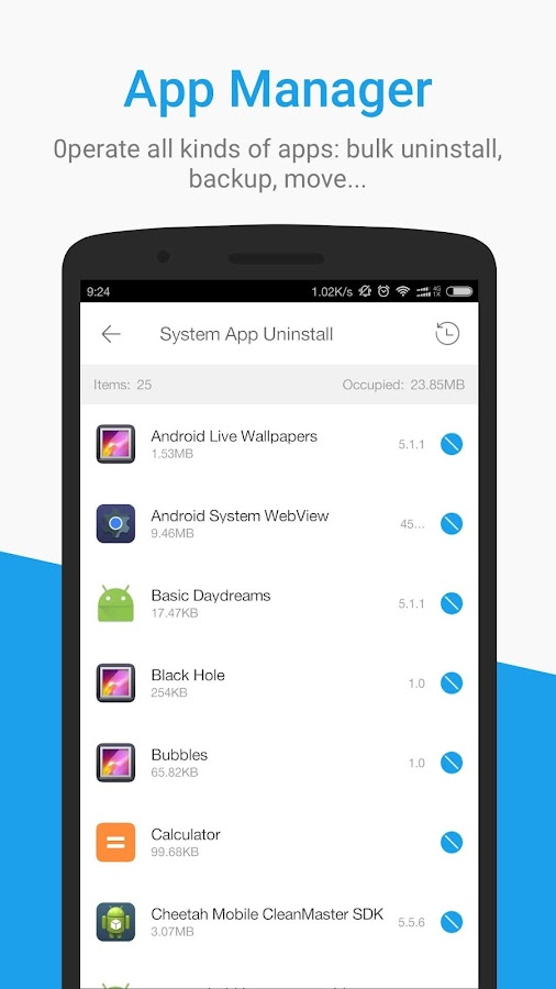 Screenshots of All-In-One Toolbox (Cleaner) for Android