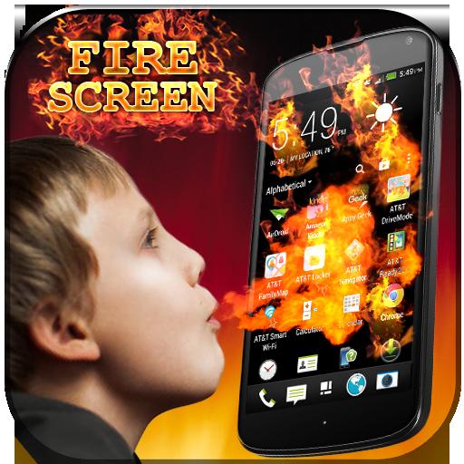 Fire Screen Prank Icon
