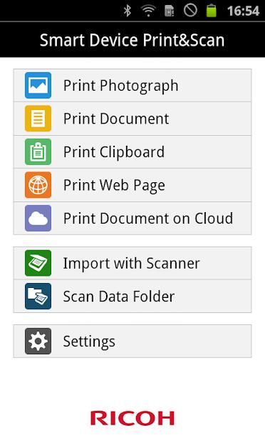 RICOH Smart Device Print&Scan