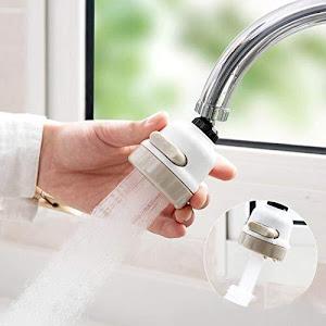 Set 2 x Cap de robinet cu pulverizator