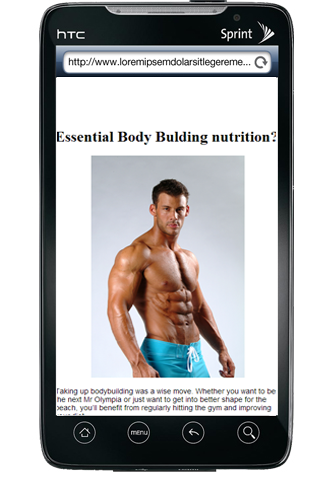 Body Builders Nutrition Guide
