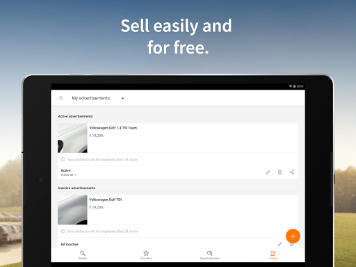 AutoScout24 screenshot