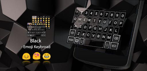 Business Black Emoji Keyboard - Apps on Google Play