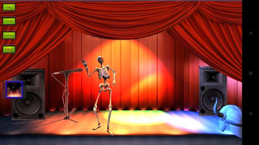 我的舞蹈骨架