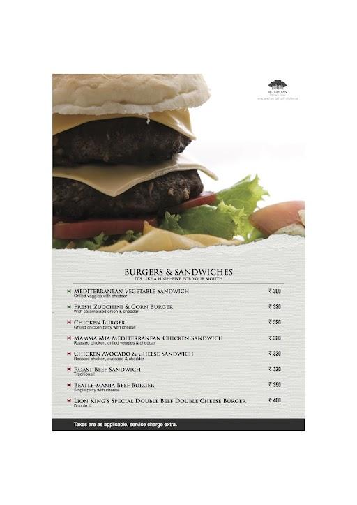 The Fat Chef menu 8