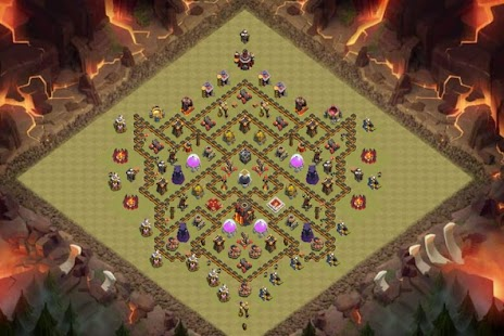Maps COC TH 10 Trophy Base - náhled