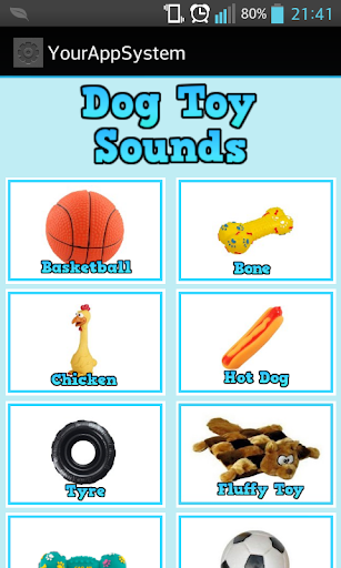 Dog Toy Sounds