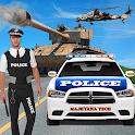 Tank Attacks Police Cars : Panzer War 2019 icon