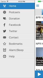 Blue Ridge Public Radio App - náhled
