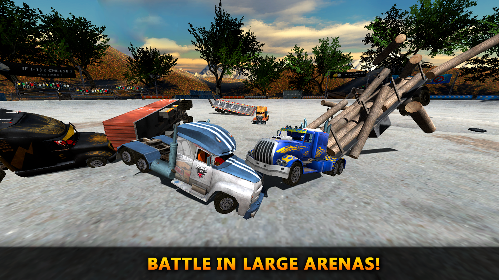 18 Wheeler Truck Crash Derby- screenshot