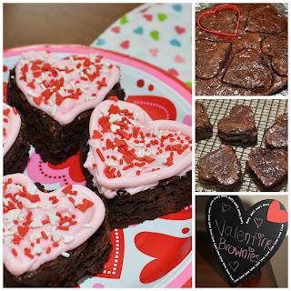 Valentine Fudge Brownies
