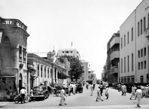 Photo: Armenian street, George Town, Madras, as seen in May 1963.