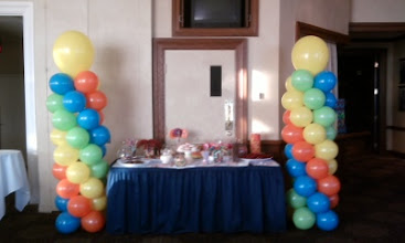 Photo: More candy-columns