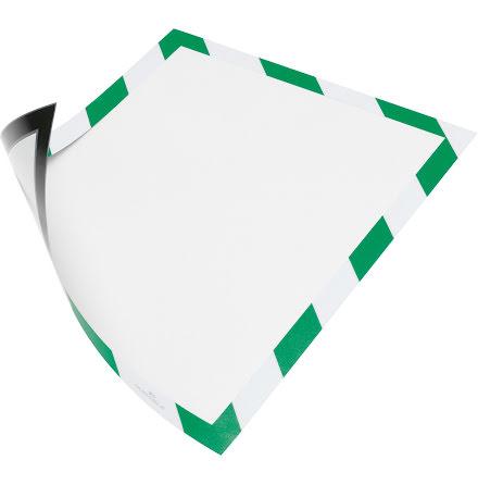Duraframe Sec. Mag. A4 grön/vi