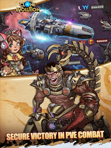 Clone Evolution: Cyber War-Borderlands Fantasy 1.4.9 screenshots 13