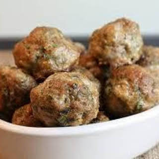 Tofu *Meatballs (meatless) (Vegetarian).