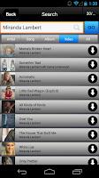 Screenshot of Freegal Music