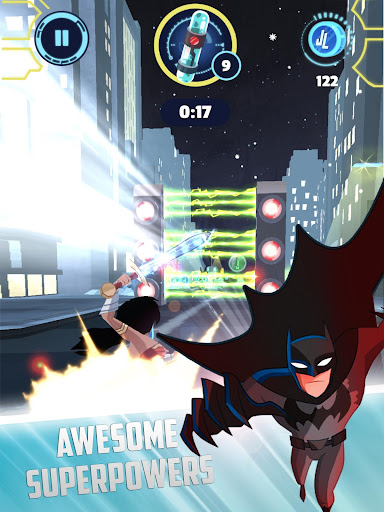 Justice League Action Run screenshot 12