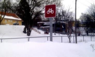 Photo: 39 Tuesday 08.02 - Blindern area, Oslo