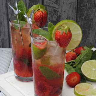 Virgin Strawberry Drinks Recipes.