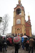 Photo: Пушкино. Московский проспект. Троицкий храм. Начало колядок отсюда_Фото Алексей Иванов