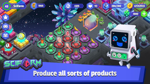 scifarm - space farming and zoo management game screenshot 3