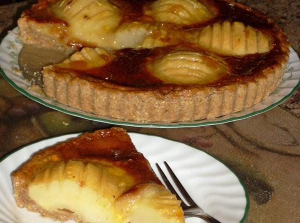 Pear Tart With Cornmeal Crust Recipe