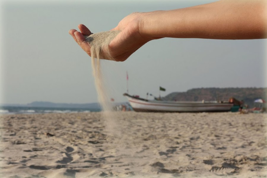 Sand in hand by Shushank Mittal - Nature Up Close Sand