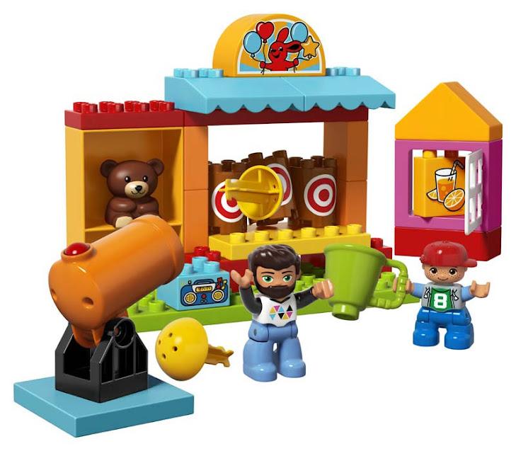 Contenido de Lego® 10839 Puesto de Tiro al Blanco