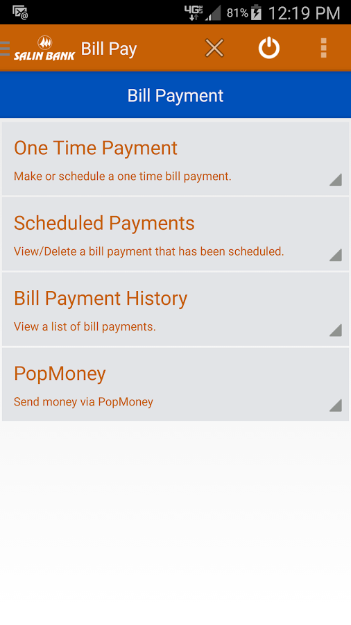 Salin Bank Mobile Banking- screenshot