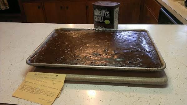 Texas Sheet Cake Icing Recipe
