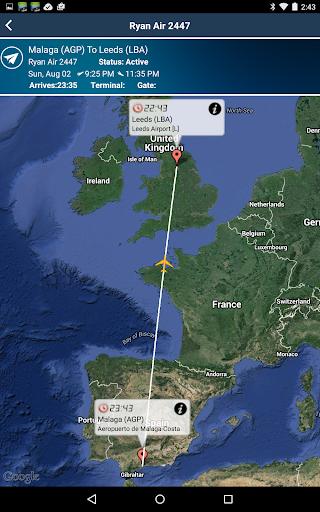 Leeds Airport + Radar LBA