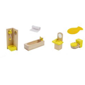 Mobilier baie lemn pentru casuta de papusi - Onshine