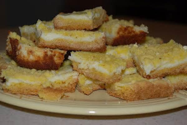 Lemon Glacier Bars Recipe