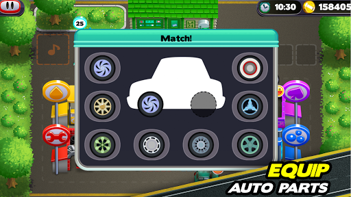 Tiny Auto Shop - Car Wash and Garage Game  screenshots 5