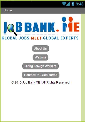 Job Bank ME