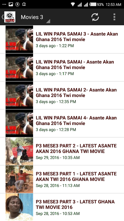 Ghallywood Ghana Movies- screenshot