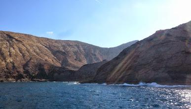 Photo: die Caldera von Montaña Clara