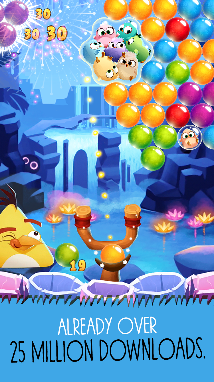 Angry Birds POP Bubble Shooter screenshot #2