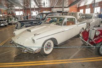 Photo: '57 Packard - Basically a '57 Studebaker Hawk, but with a Packard engine.