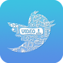 Downloader for Twitter - Download Tweet Video, GIF icon